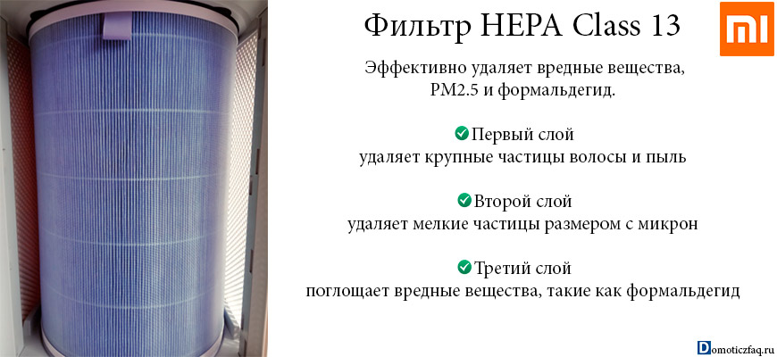 xiaomi air purifier 3 hepa filter