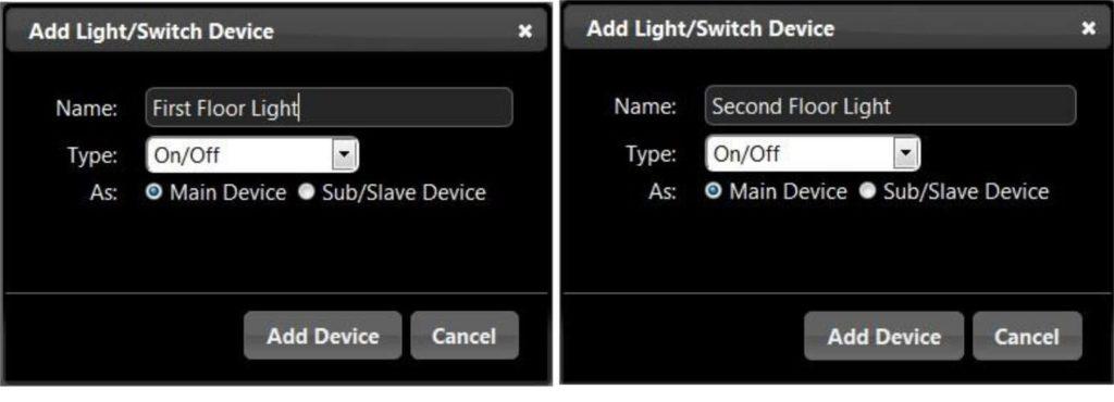 Domoticz sub / slave device