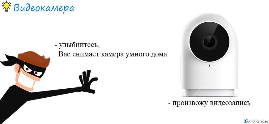 видеокамера в умном доме